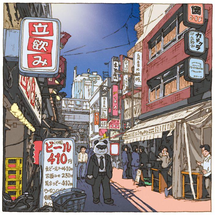 100 Views of Tokyo(101〜105) on Behance