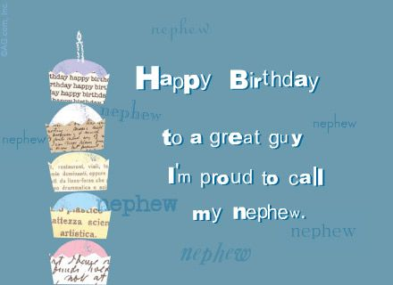 Birthday Wishes Nephew Free ~ Best quotes images happy birthday greetings