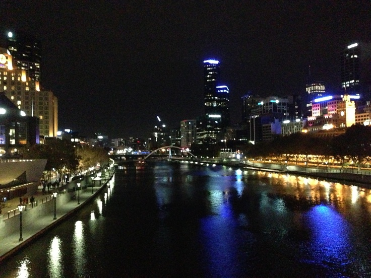 Melbourne Night Views