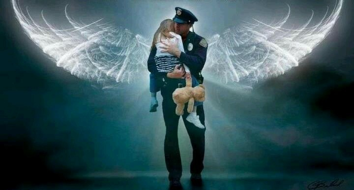 Policeman With Angel Wings Related Keywords & Suggestions ...