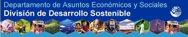 División de Desarrollo Sostenible de las Naciones Unidas