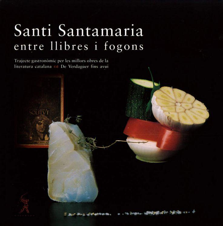 El chef Santi Santamaría, pocos años antes de fallecer, nos dejó este libro en donde hace un recorrido gastronómico por las mejores obras de la literatura catalana, desde Verdaguer hasta nuestros días.