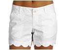 Resort White Seersucker Shorts.