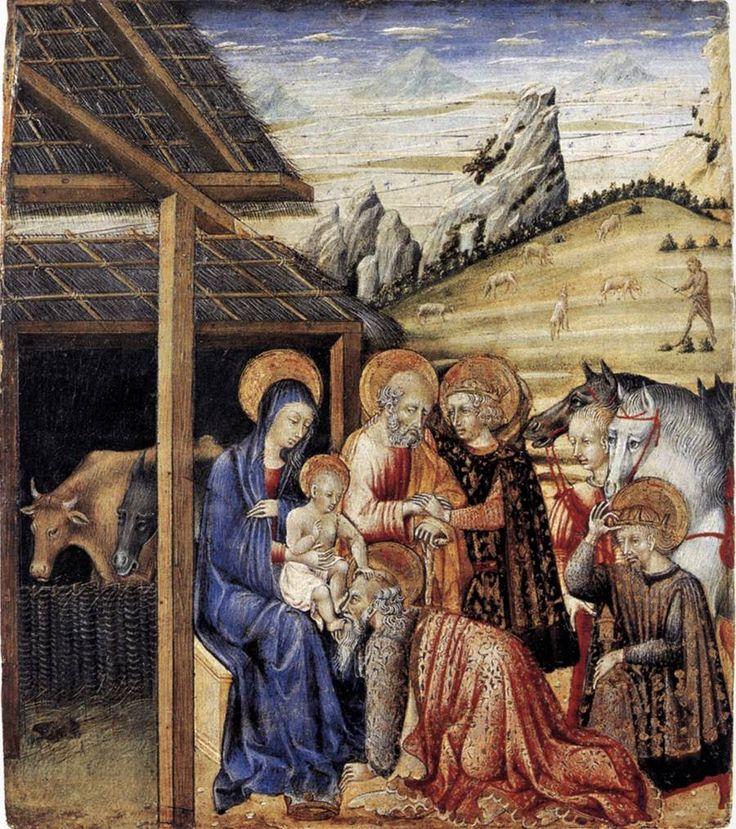 http://tito0107.livejournal.com/279391.html Поклонение волхвов, 1462.