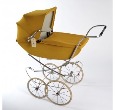 mustard yellow + vintage + baby = awesome