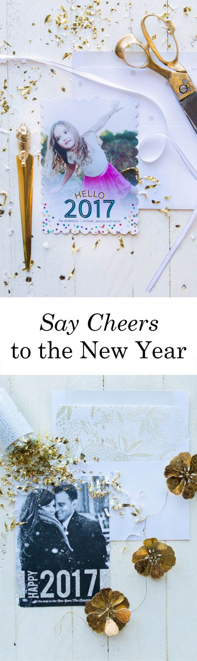 [ad] Ring in the New Year with customized holiday cards from Tiny Prints.