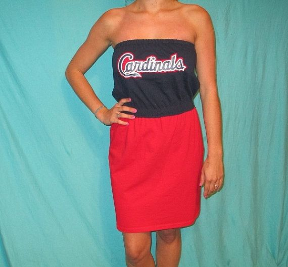 St. Louis Cardinals Game Day Dress by LoveMyGameDress on Etsy