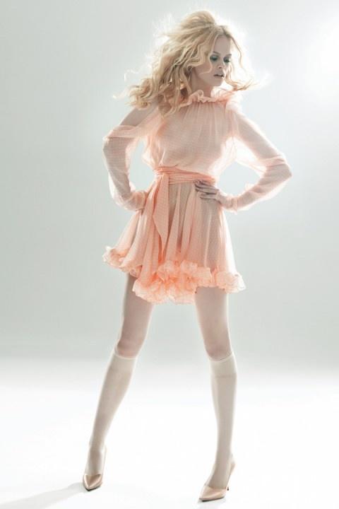 Bettina Liano: Sorbet Hollywood Dress
