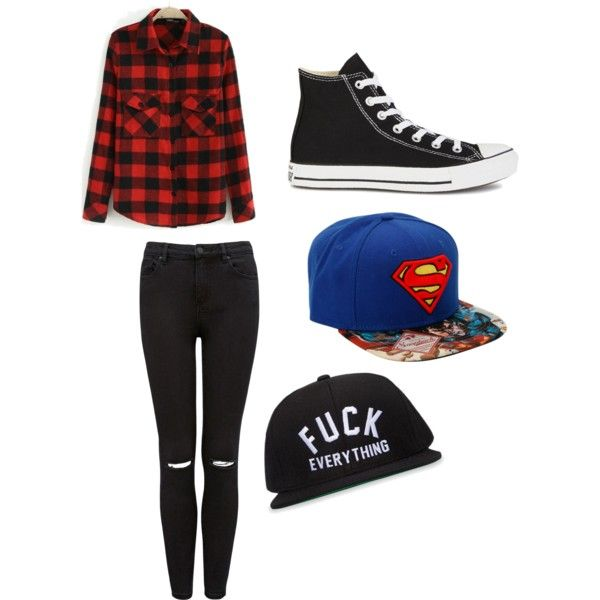 Sin título #3 by paaaaudirection on Polyvore featuring polyvore, moda, style, Forever New, Converse, Kill Brand and fab