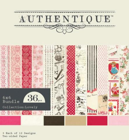 Lovely | Authentique Paper