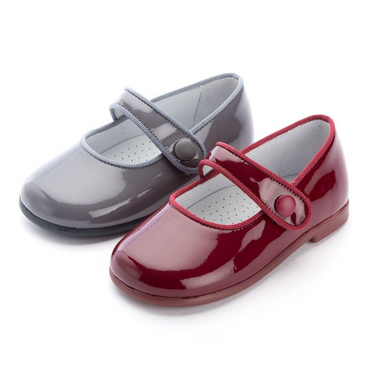 Cheap and quality Girl's Riptape Patent Mary Janes.