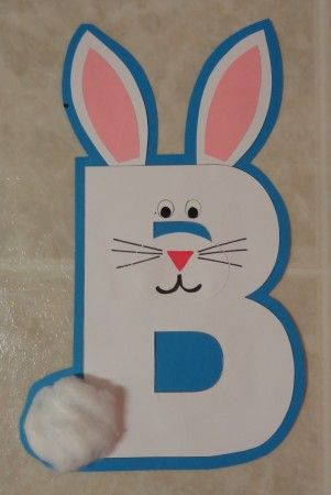 B is for… | Literacy Center Craftivity Preschool Lesson Plans