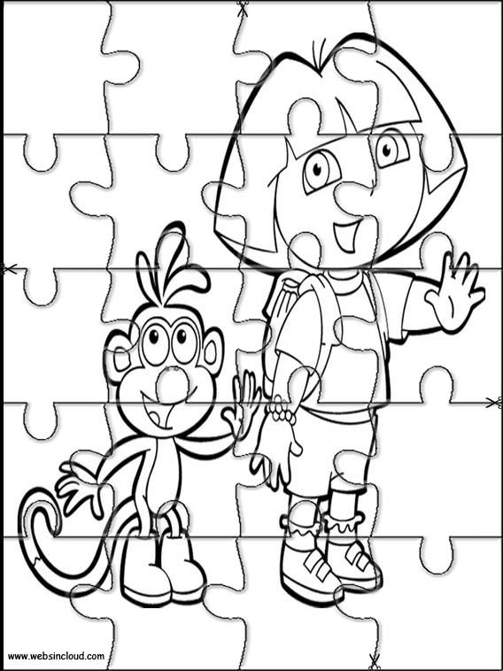 puzzles and coloring pages printable - photo#21
