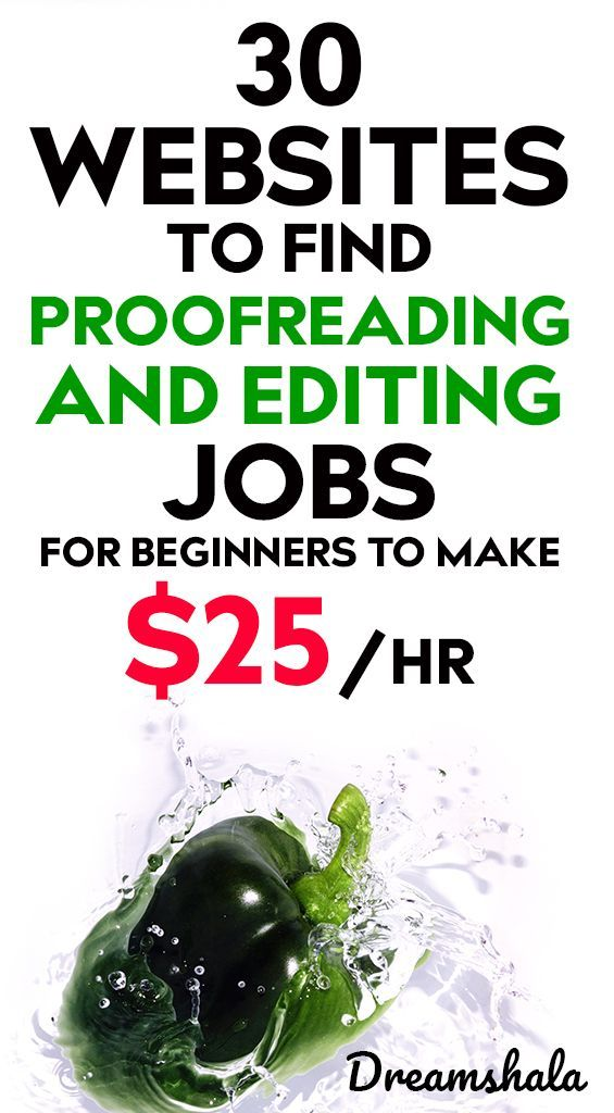 30 Websites To Find Freelance Editing And Proofreading Jobs