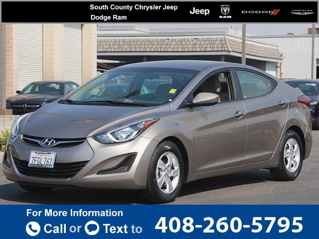 2014 *Hyundai*  *Elantra*   38k miles Call for Price 38790 miles 408-260-5795  #Hyundai #Elantra #used #cars #SouthCountyChryslerJeepDodgeRam #Gilroy #CA #tapcars
