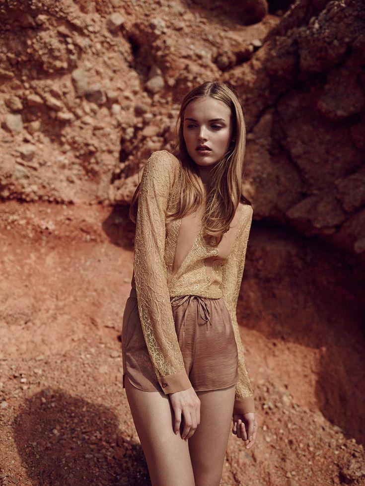 "Ania Yudina by David Cohen de Lara in ""Neutral State"" for Fashion Gone Rogue"
