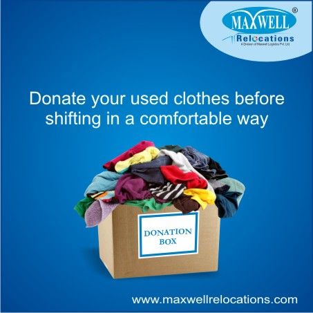 #MaxwellRelocations recommend keeping the list of important articles as short as possible. So, it is quite clear that you can donate the unused or old article to needy people to make shifting procedure easier.     http://www.maxwellrelocations.com/packers-and-movers-in-delhi/