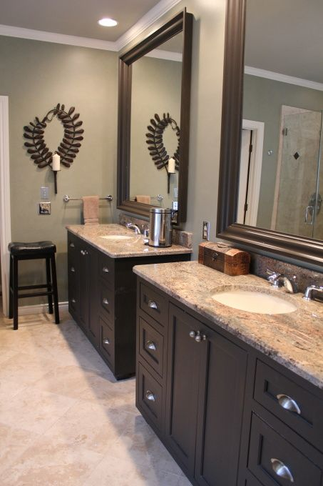 Bathroom Cabinet Color Ideas best 25+ dark cabinets bathroom ideas only on pinterest | dark