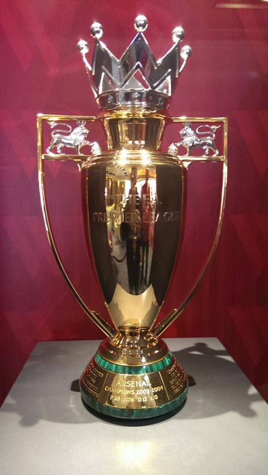 The for | Trophy Invincibles. Gold  Santos EPL futebol
