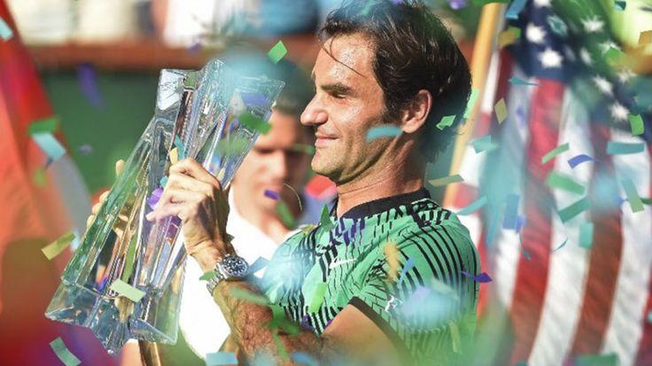Roger Federer beats Stan Wawrinka for Indian Wells 2017 title.