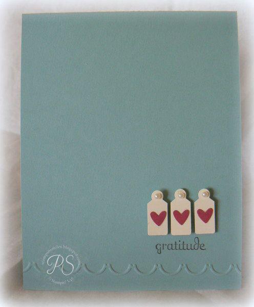 143 best Super Simple Cards images on Pinterest  Watercolour