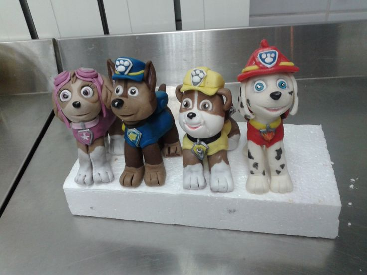 Kids Toys Action Figure: 162 Best Images About Paw Patrol Cake! On Pinterest