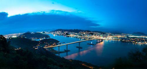 Terceira Ponte em Vitória/Vila Velha, Espírito Santo (by Fabricio Silva)