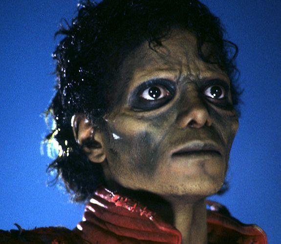 Rick baker monster maker thriller 1983 rick baker for Maker jackson