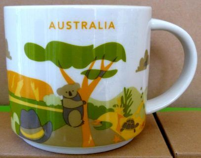 You Are Here – Australia – Starbucks Mugs