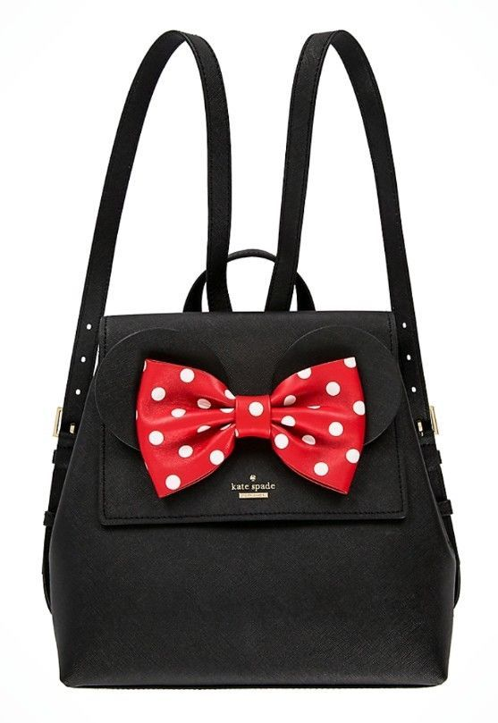 c194bd34d968 Kate Spade PXRU8273 Disney Minnie Mouse Small Neema Backpack Bag Purse  BLACK NEW  katespade  BackpackStyle