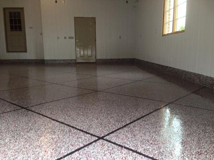 18 best epoxy tile flake flooring images on pinterest. Black Bedroom Furniture Sets. Home Design Ideas