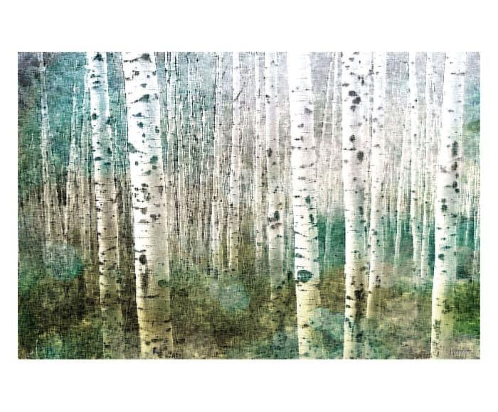 Stampa su canvas Aspen Green, 61x41h cm   quadri   Pinterest
