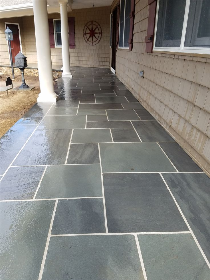 8 best bluestone patios pool decks images on pinterest for Bluestone porch