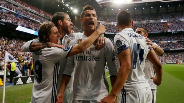 RECORD-BREAKER RONALDO 103 Cristiano Ronaldo has scored more Champions League goals than Atletico Madrid (100)