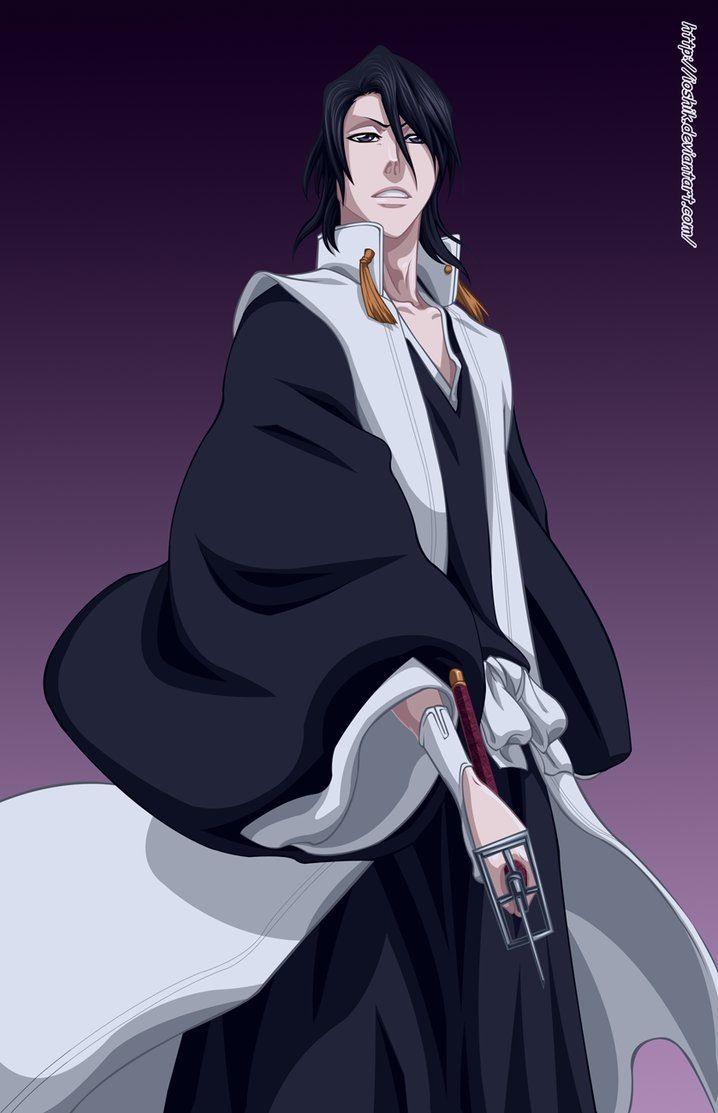 Byakuya's new look.... Still sexy.. | Bleach | Pinterest ...