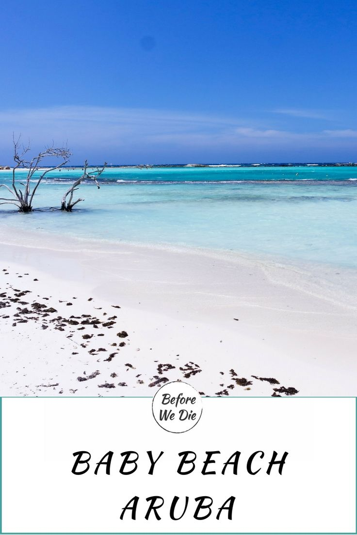 Baby Beach Aruba Traumstrand in der Karibik ABC-Inseln