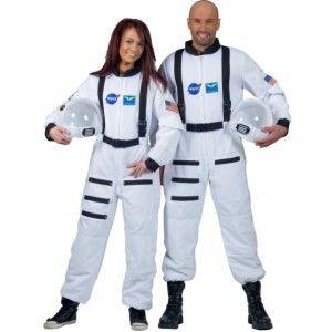Deguisement astronaute blanc adulte mixte.