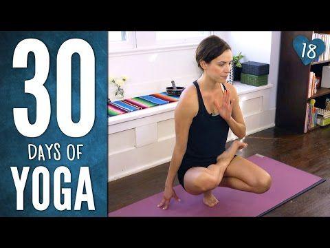 Day 18 - Wonder Yoga! - 30 Days of Yoga - YouTube