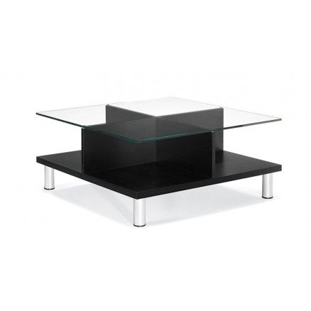 Global Citi 7889 Square coffee table with glass top.  Available for online purchase at Ugoburo.ca