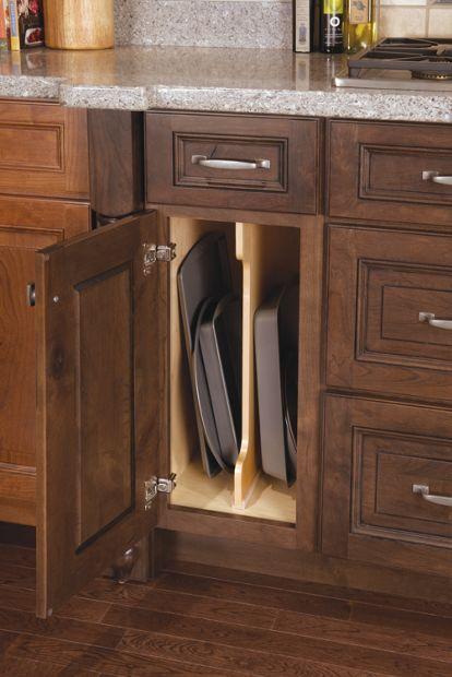 kitchen cabinet wood tray dividers medallion divider organizer wooden