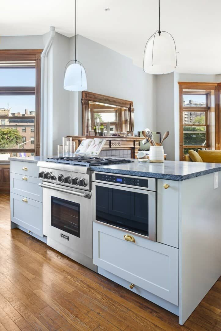 Placing The Workhorse Of Your Kitchen The Stove In A Central