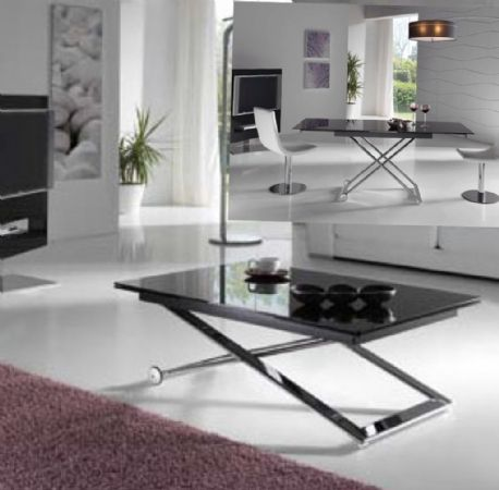 8 best mesas de centro elevables y extensibles a comedor images on pinterest dining rooms - Mesas elevables y extensibles ...