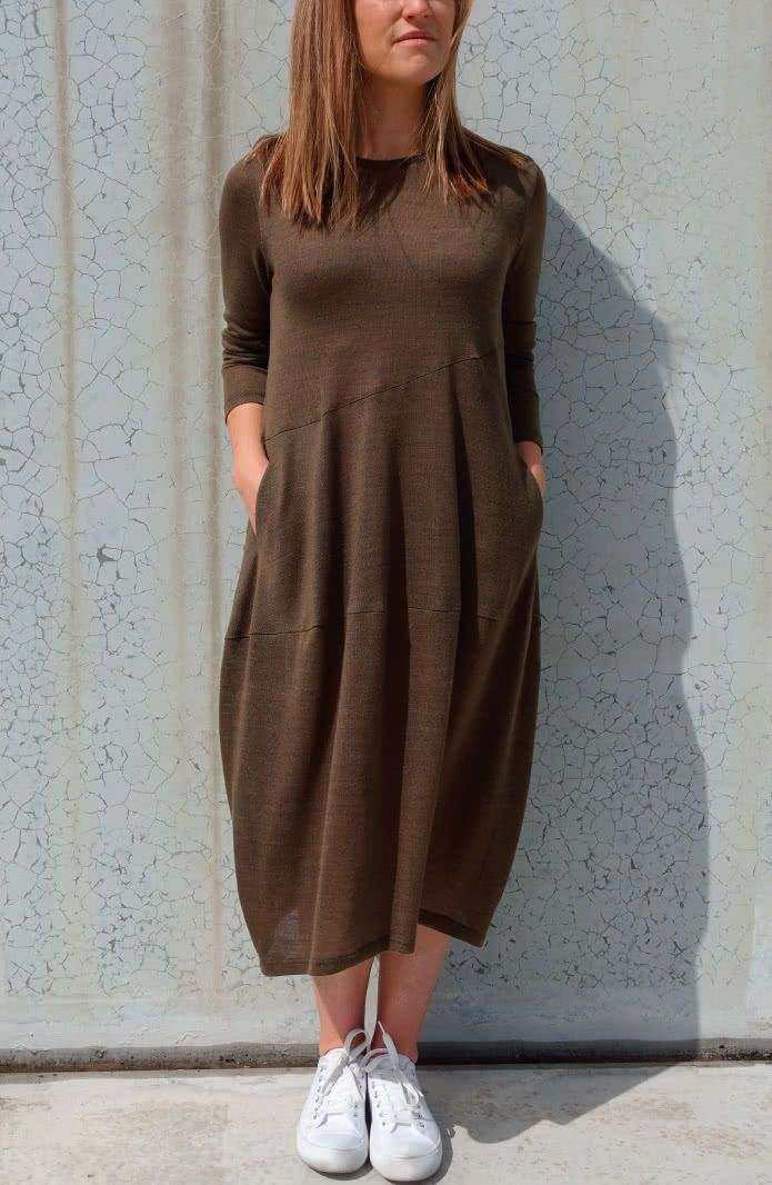 c3daac5228e Venice Knit Dress Sewing Pattern By Style Arc
