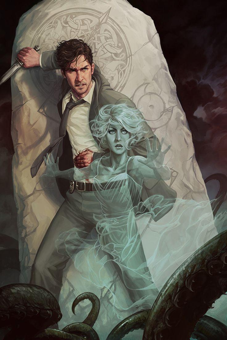 Ghost, Adam Schumpert on ArtStation at https://www.artstation.com/artwork/E9WgN