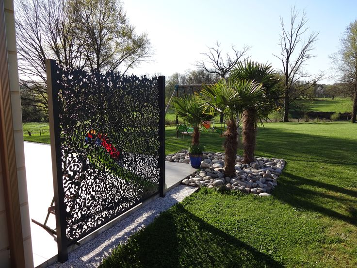 42 best claustra images on pinterest landscape planner for Decoration jardin oiseau metal