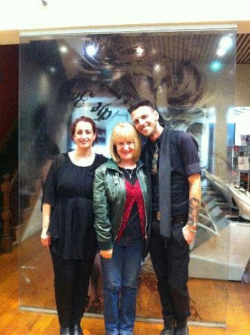 It's ALWAYS a giggle when Aussie comedian, Denise Scott, comes into our Fitzroy salon! WE LOVE HER! #hohb #headingout #denisescott #Melbourne #Fitzroy #hairsalon #blonde #legend