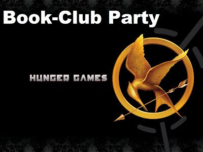 how I planned my Hunger Games book club party- including voting for Peeta and Gale- fun food and ideas for your party maybe?
