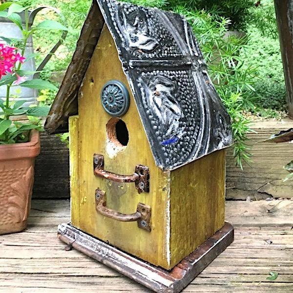 Barn Wood And Tin Rustic Birdhouses Birdhouses Rustic Decorative Bird Houses Bird Houses Diy