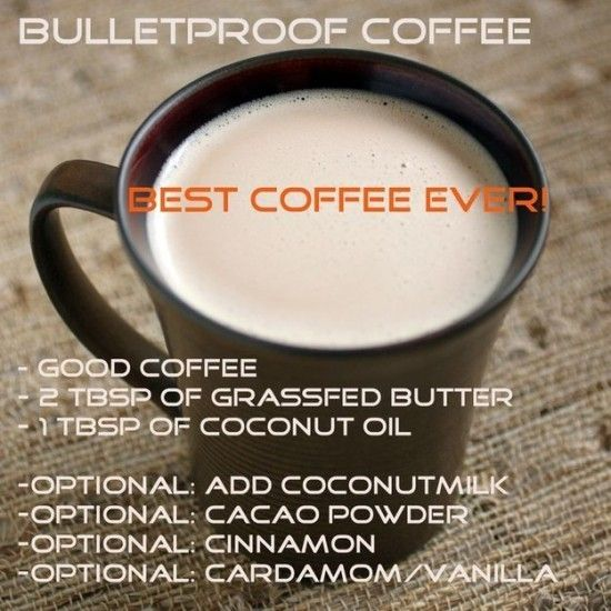 Love Bullet Proof Coffee.  This is the perfect afternoon pick me up.