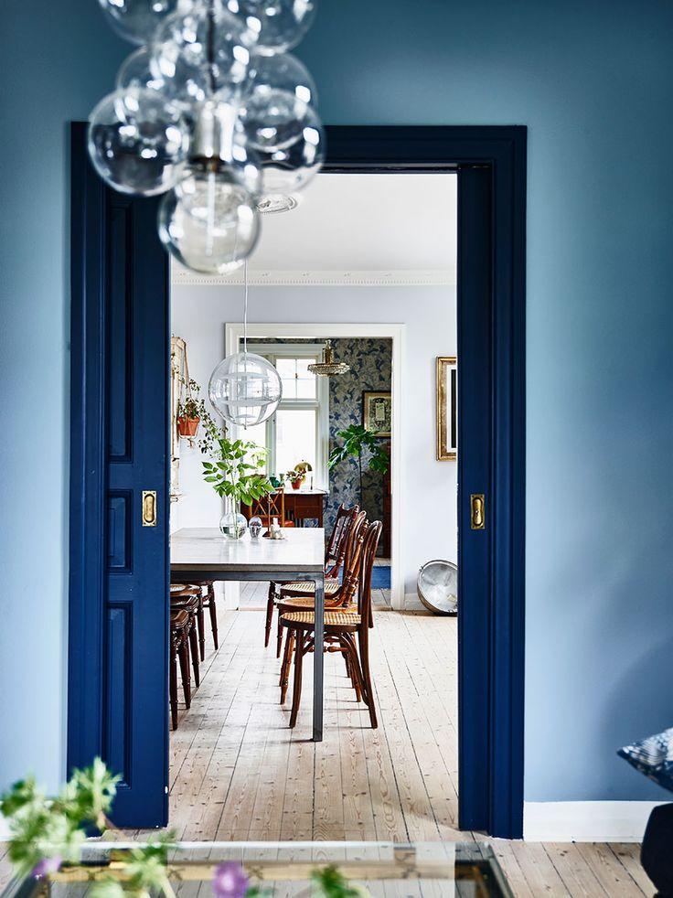 """Välkommen hem till vår bloggare """"Krickelin"""", Kristin Lagerqvist, och hennes familj. Den gamla villani Varberg har en spännande historia och har renoverats med kärlek och mycket..."""